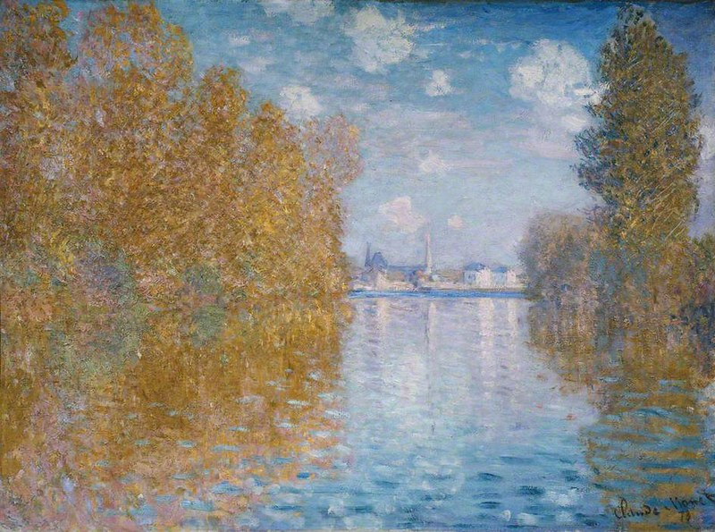 Autumn Effect at Argenteuil by Claude Monet, 1873