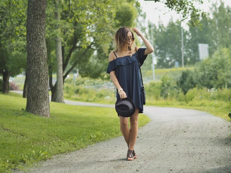 pull&bear-mekko-coldshoulder-dress-summer-dress