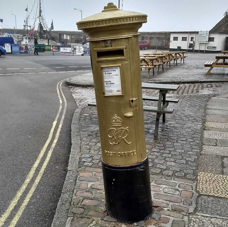 Letter box by Penzance Harbour