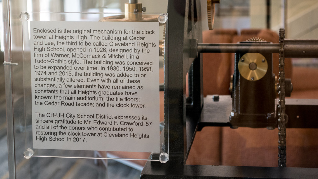 clock mechanism text - Cleveland Heights High School