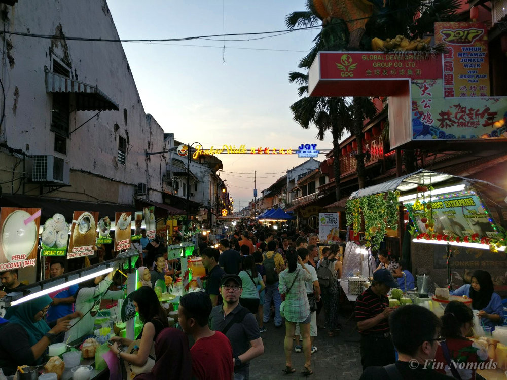 melaka night market