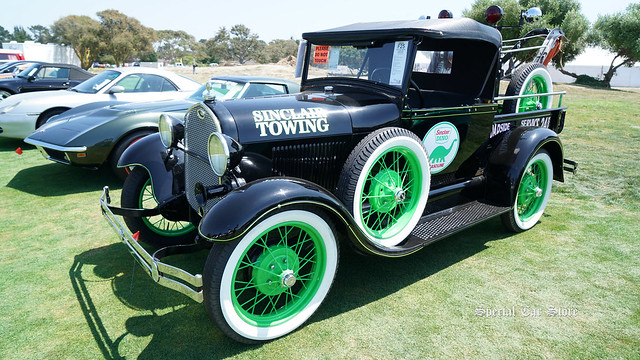 1929 Ford Model A Sinclair Wrecker at Mecum Auction Monterey 2017