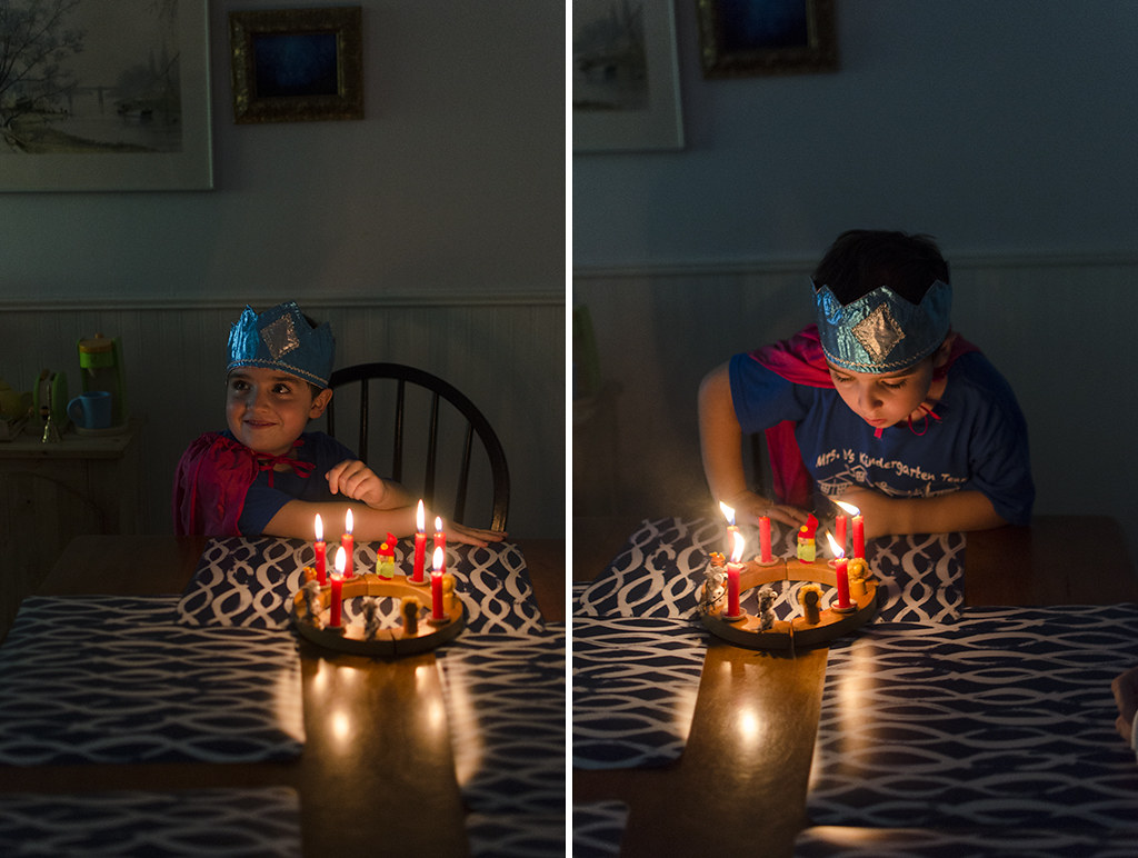 zane sixth birthday collage
