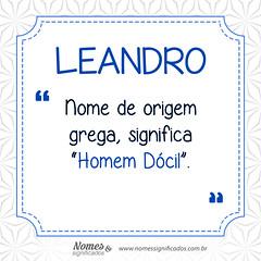 Significado do nome Leandro