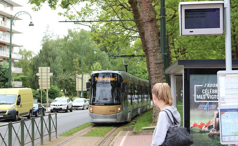 Tram 94 for Brussels Tram Museum