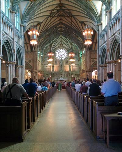 St. Dunstan's Basilica (3) #pei #princeedwardisland #charlottetown #stdunstansbasilica #churches #greatgeorgestreet #latergram