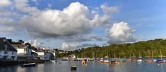 Fowey Estuary 2, Panorama.  D3100. DSC_0270-0274