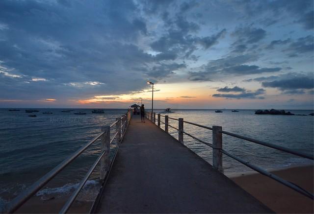 paya beach resort tioman island arrival