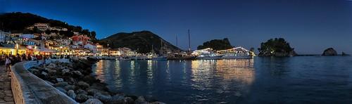 parga pargaharbour nightlife epirus greece greek greekboat