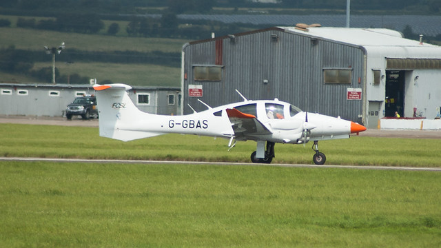 G-GBAS - ILS Calibration DA62 @ Cardiff Airport 220817