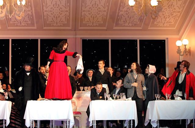 La bohème, The Royal Opera Season 2017/18 © ROH 2017. Photograph by Catherine Ashmo