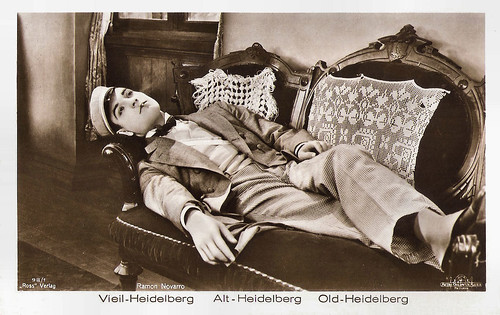 Ramon Novarro in The Student Prince of Old Heidelberg (1927), Lubitsch