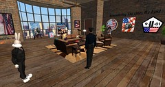 9/11 Memorial in Second Life - 16 years later