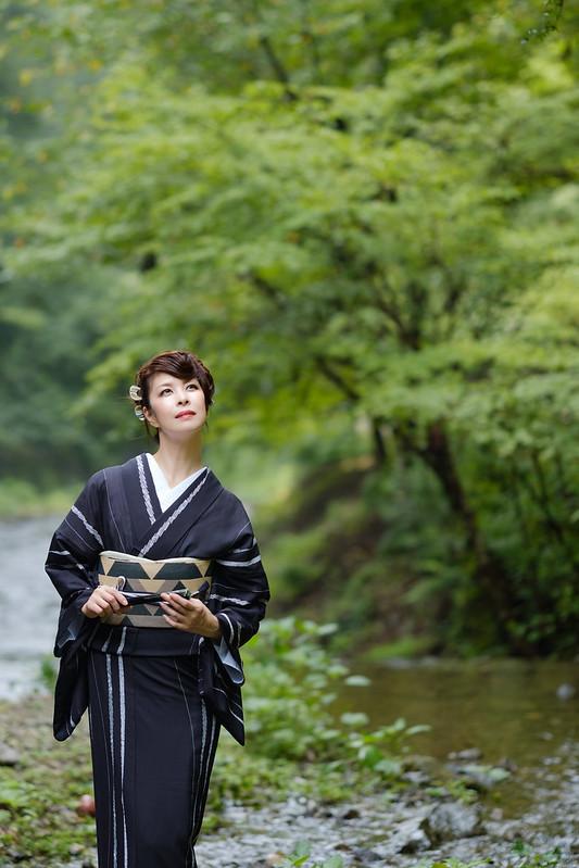 Kifunegawa summer style ( Cocoro Kusano )