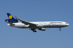 D-ALCH - Lufthansa Cargo - McDonnell Douglas MD11-F