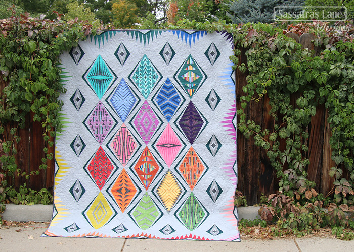 Empire Place quilt feature in Quilty Magazine