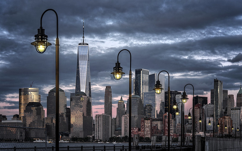 Lamp posts and the Big Apple