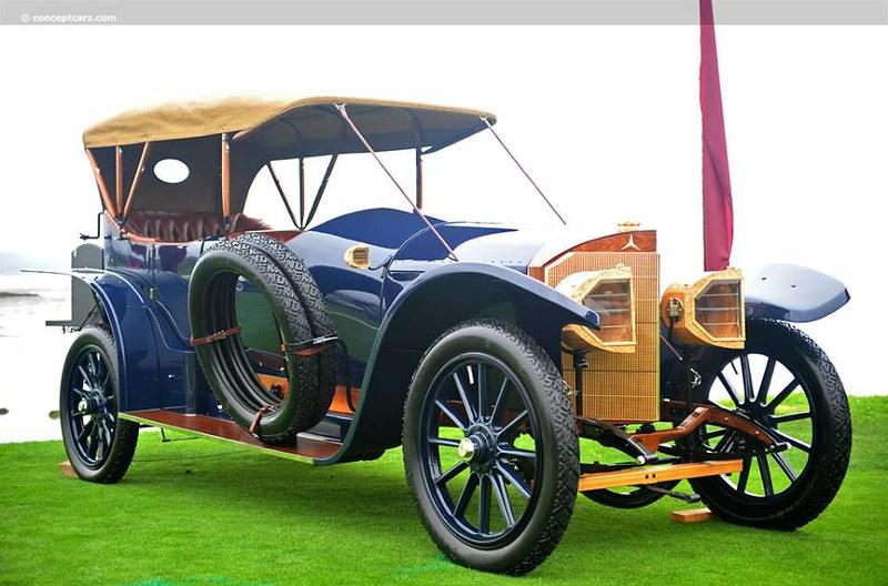 1915 torpedo Benz