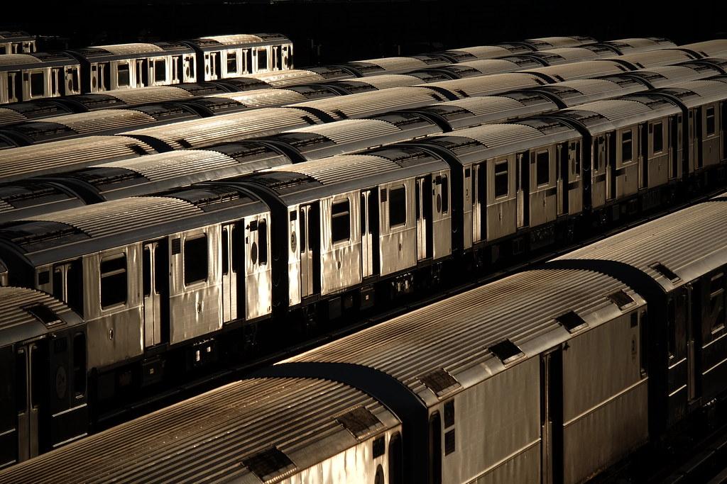 MTA Subway Trains, Queens, New York City, 2017