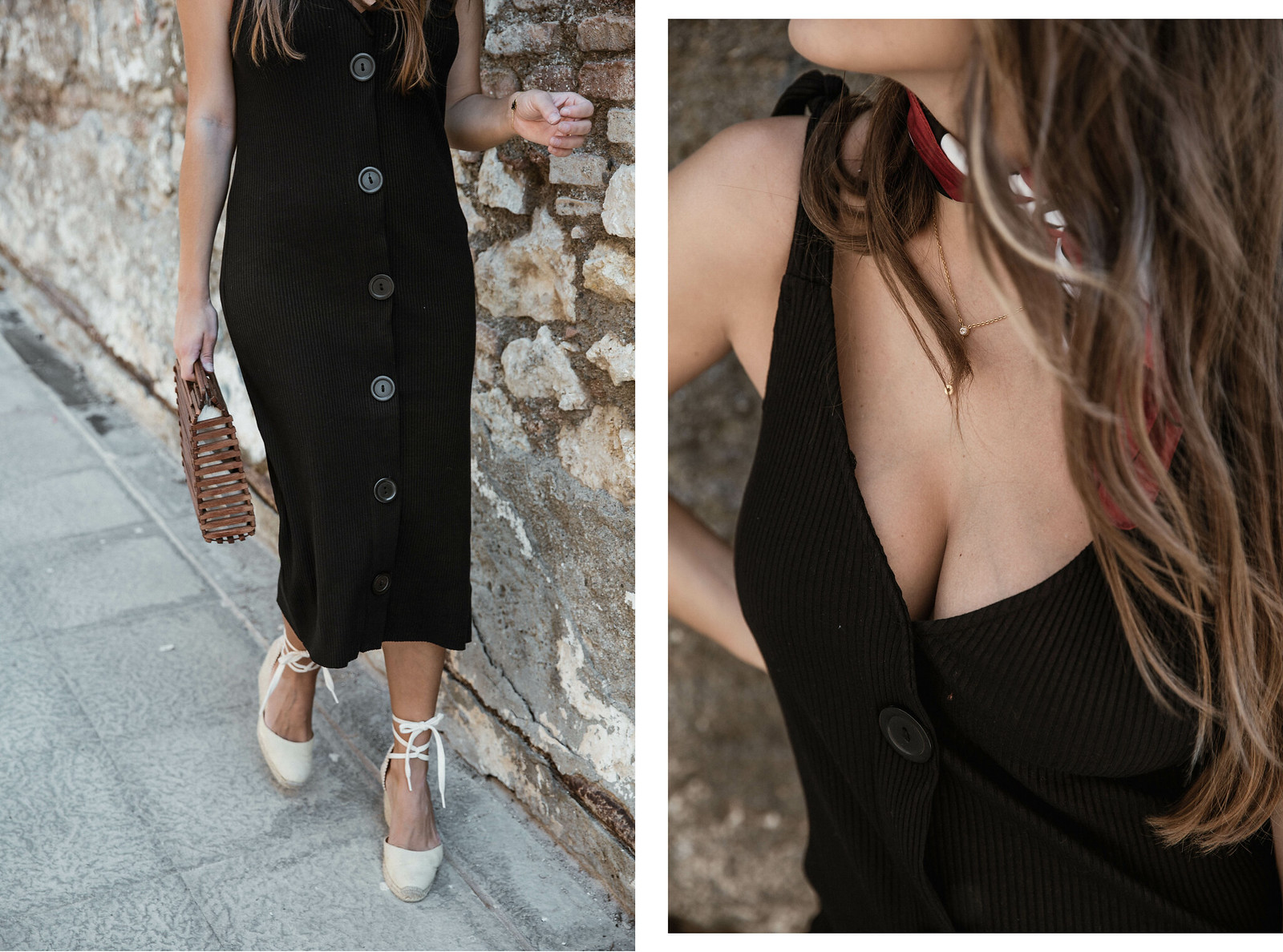 seams for a desire - jessie chanes - black tight dress - zara-1