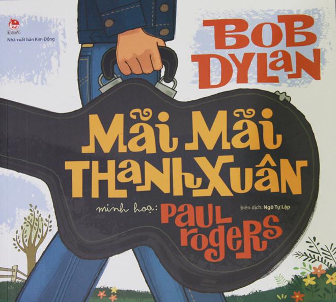 'Nghe' ca tu cua Bob Dylan qua sach tranh hinh anh 1