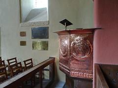 Pulpit in St Mark's Chapel, Brithdir