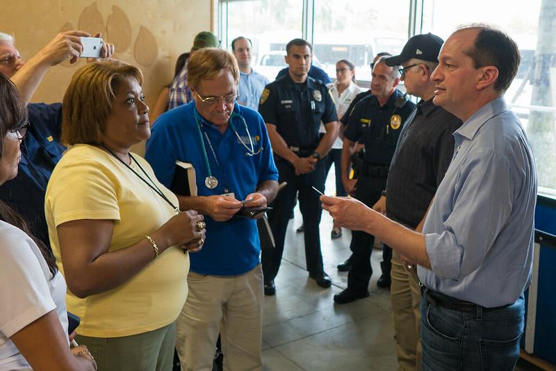 Secretary Acosta Visit