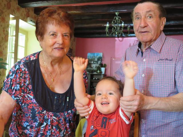 Mamie Jeanine, Papi et Gaspard