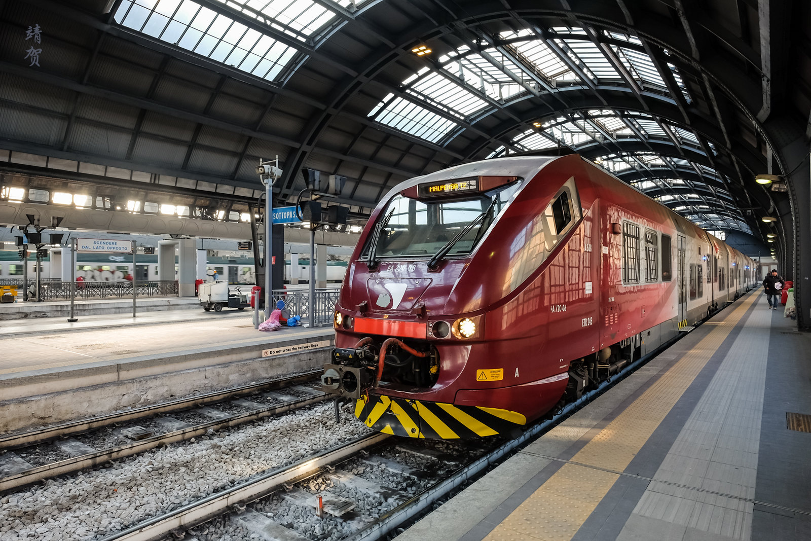 Train to Malpensa