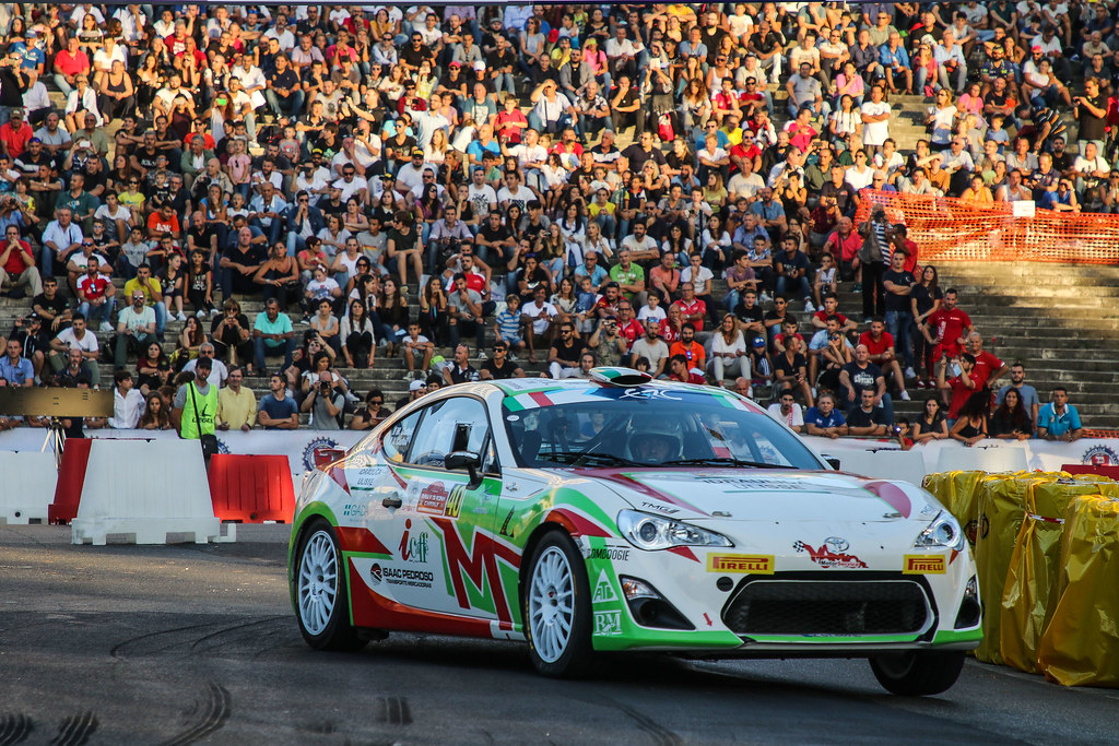40 CIUFOLI Marco (ITA) CIUFOLI Alessandro (ITA) Toyota GT86 R3 action during the 2017 European Rally Championship ERC Rally di Roma Capitale,  from september 15 to 17 , at Fiuggi, Italia - Photo Jorge Cunha / DPPI