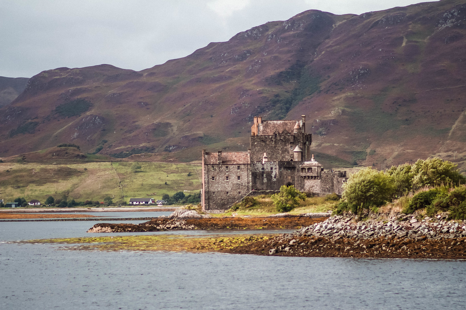 Eilean Donan Castle Scotland NC500 travel blogger UK