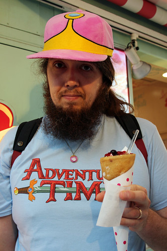 Time for an infamous Japanese crépe