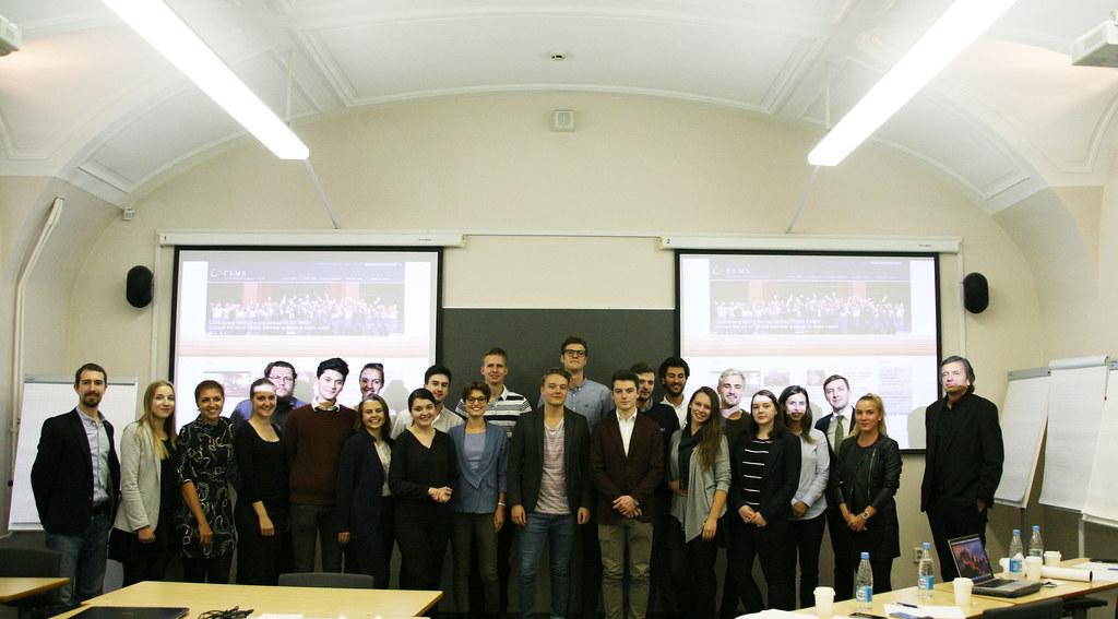 Завершился ежегодный блок семинар для студентов программы CEMS