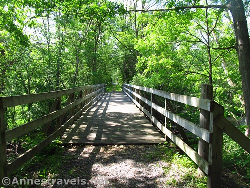Another bridge along the Ontario Pathways Rails to Trails, New York