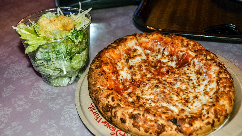 PizzeRizzo cheese salad DHS
