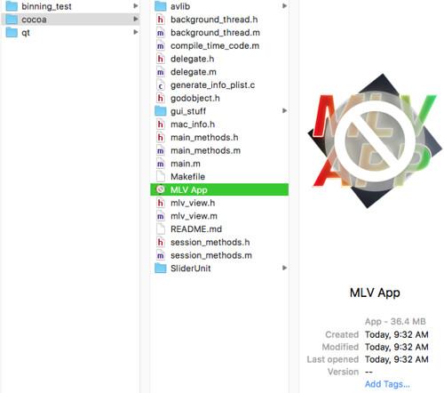 MLV App 1 8 - All in one MLV Video Post Processing App