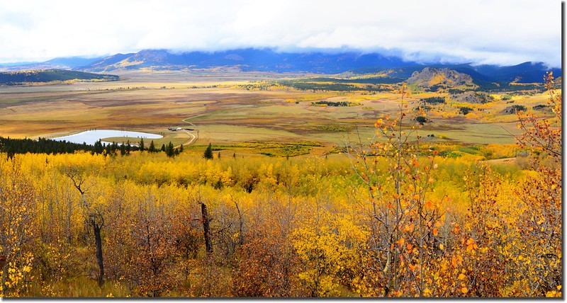 View from The Colorado Trail, overlooking South Park, near Kenosha Pass (4)