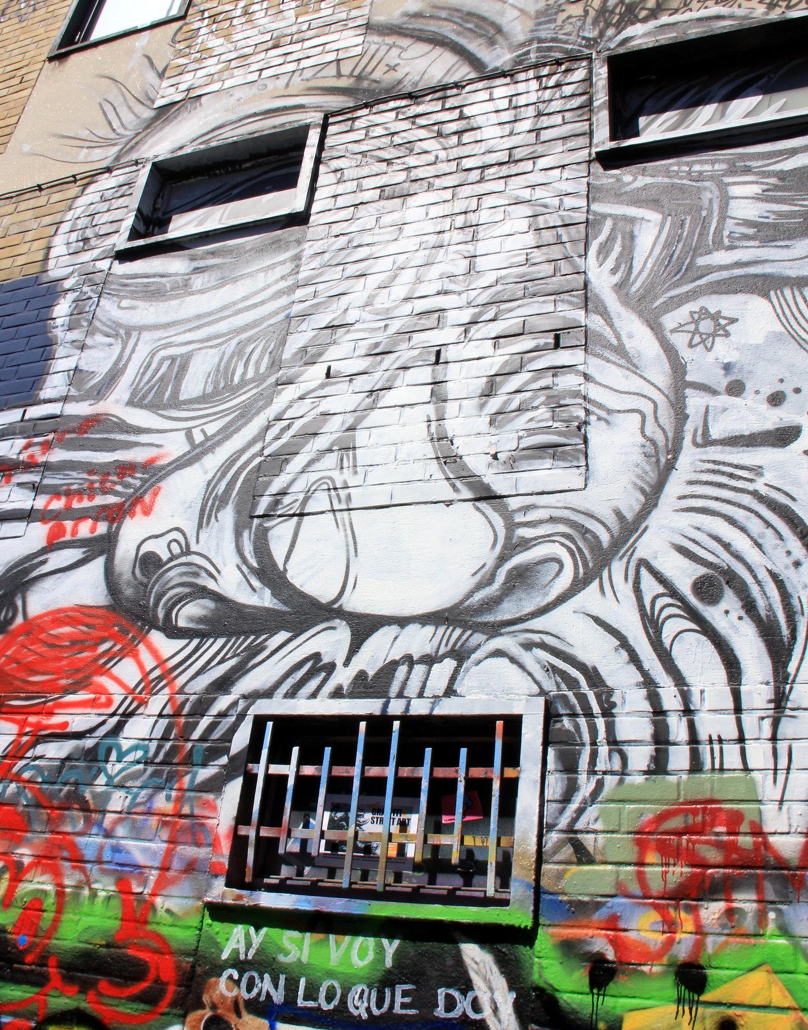 Ghent street art can be enjoyed through a tour