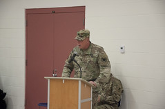 416th TEC Change of Command ceremony