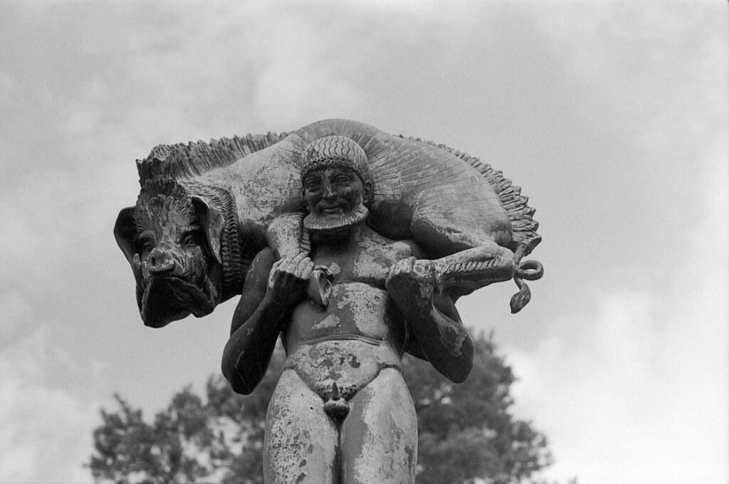 Rudolph Tegner Herakles Og Vildsvinet 1919 Rudolph Tegne Flickr