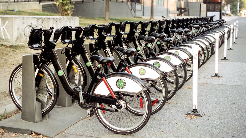 Full Rental Bike Rack