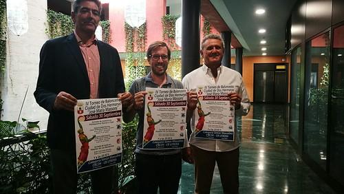 Presentación del Trofeo de Baloncesto Ciudad de Dos Hermanas