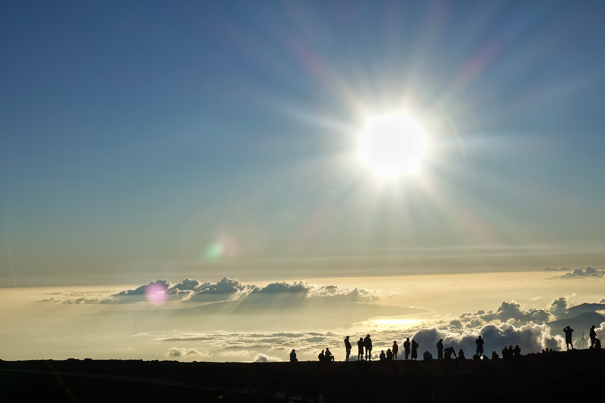 Mt. Haleakala Summit Sunset