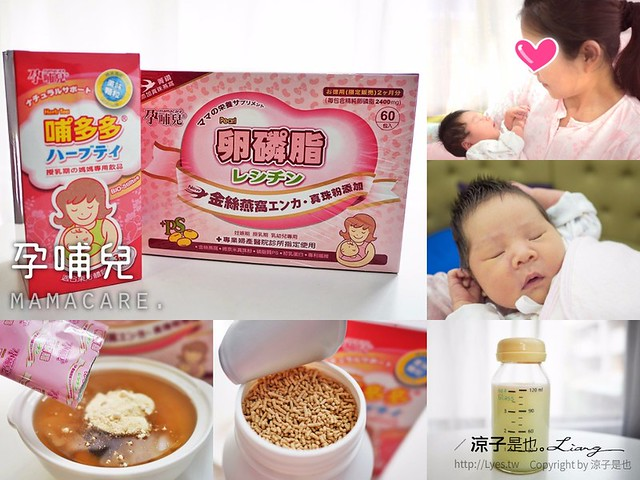 孕哺兒 哺乳 母乳 卵磷脂