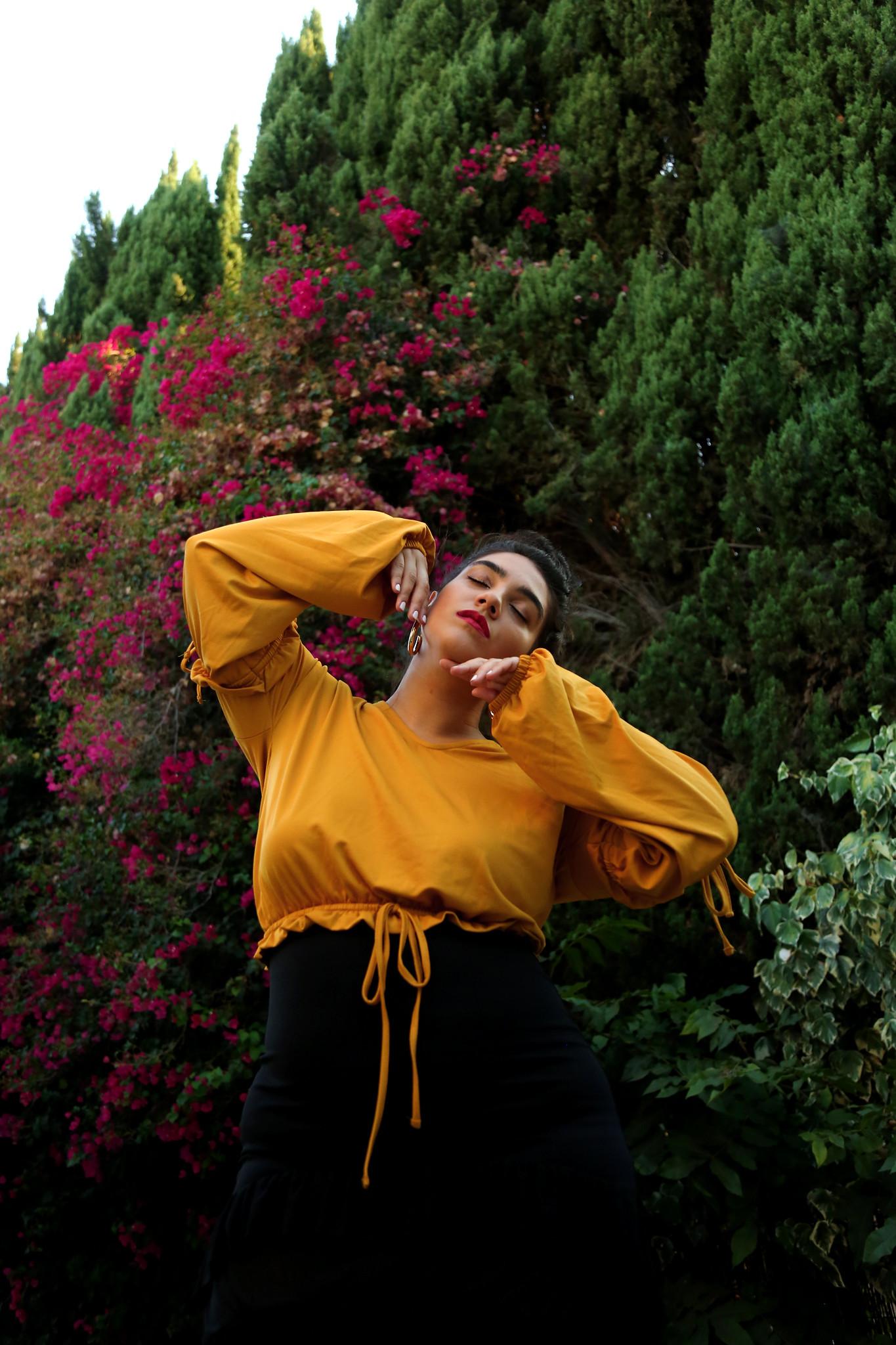 nadia aboulhosn yellow