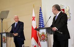 Joint Press Statements by Prime Minister Giorgi Kvirikashvili and Vice President Mike Pence