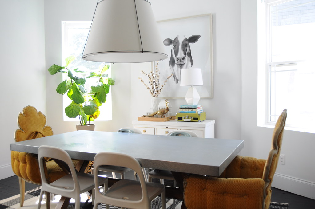 Painting The Dining Room White