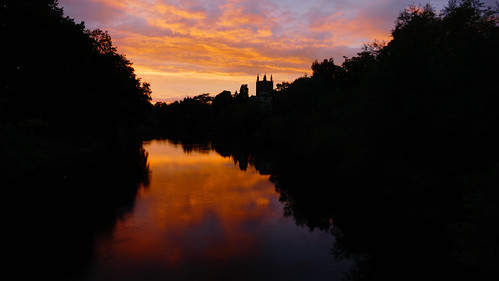 Sunset, River Wye, Hereford