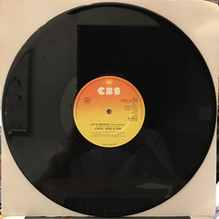 EARTH,WIND & FIRE:LET'S GROOVE(RECORD SIDE-B)