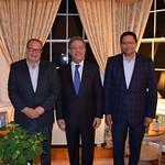 Presidente de Funglode fortalece vínculos con importantes centros norteamericanos